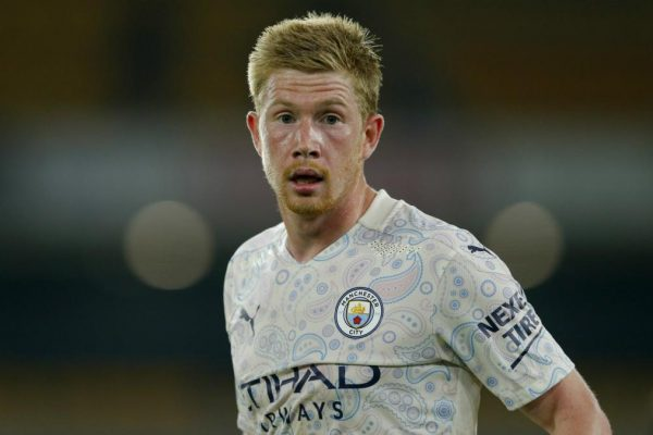De Bruyne challenged for the UEFA Player of the Year award