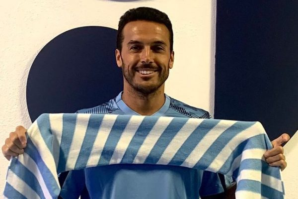 PedroOfficially launched with the new club Lazio.